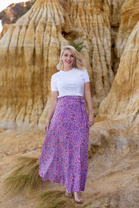 Ngapa Jukurrpa (Water Dreaming) wrap skirt- Pre-order March 2021