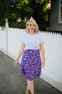 Angela Wrap Skirt:  Pre Order April
