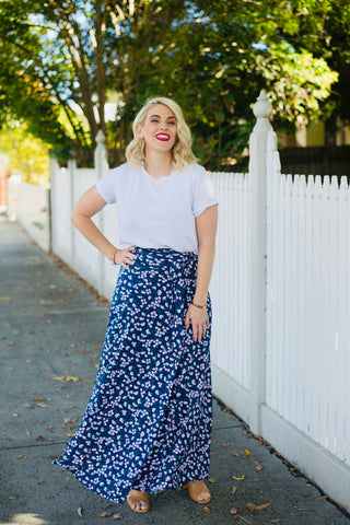 Blossom Wrap Skirt:  Pre Order April