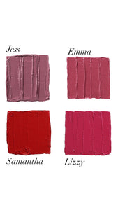 Lips By Samantha pack (four colours)