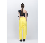 PERCEPTION Cut-out Wide Waistband Pants