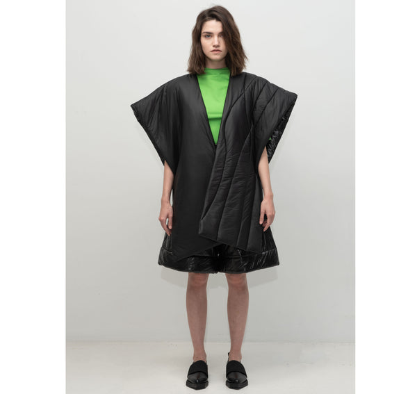 SEGUE Oversized Asymmetric Cape