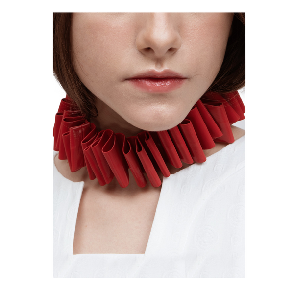 PERCEPTION Pleated Choker