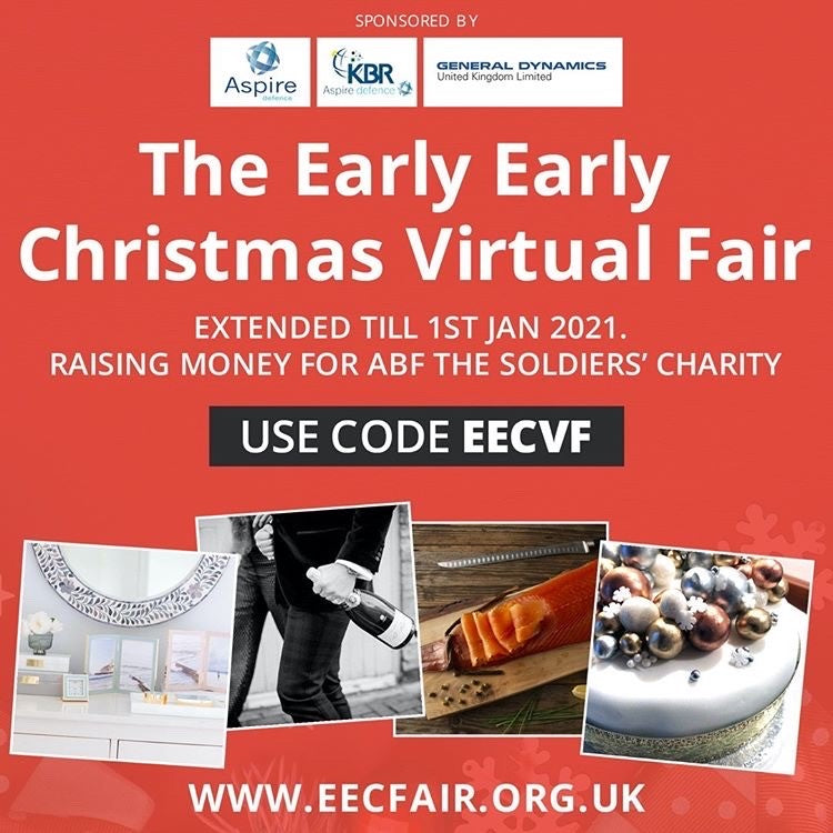 We are going Virtual at the Early Early Christmas Fair