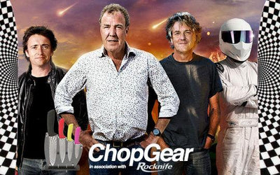 Jeremy Clarkson Joins Chop Gear - in association with Rocknife