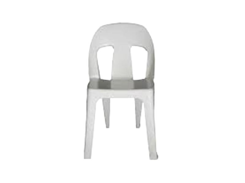 AFR003 -Afri Chair Econo Virgin (White)-Plastic Chairs-Moolla Furniture Corp CC