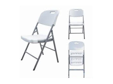 FOL004- Folding Plastic Chair-Plastic Chairs-Moolla Furniture Corp CC