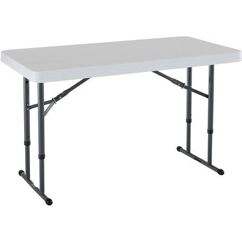 Superieur FOL002   Fold In Half Rectangular Plastic Tables  4ft (1200mm)