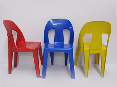 AFR004 - Afri Chair Econo Virgin (Colour)-Plastic Chairs-Moolla Furniture Corp CC