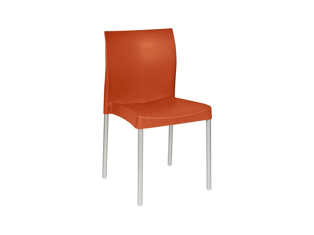 APO001 -Bistro/ Cafe' Apollo Chair (No Armrest)-Plastic Chairs-Moolla Furniture Corp CC