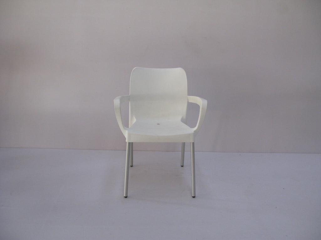 BIS001 - Bistro/ Cafe' Chair (Square Armrest)-Plastic Chairs-Moolla Furniture Corp CC