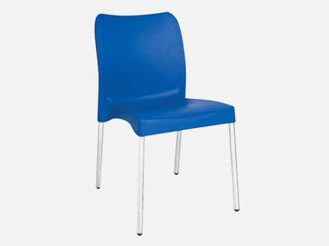 BIS002 - Bistro/ Cafe' Chair (Armless)-Plastic Chairs-Moolla Furniture Corp CC