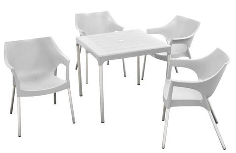CHE001 - Chelsea Table (square - 4 seater)-Tables-Moolla Furniture Corp CC