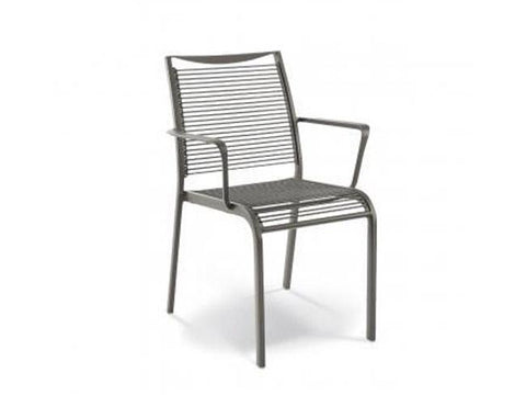 Corda Armchair (Cast Aluminium)-select chairs-Moolla Furniture Corp CC