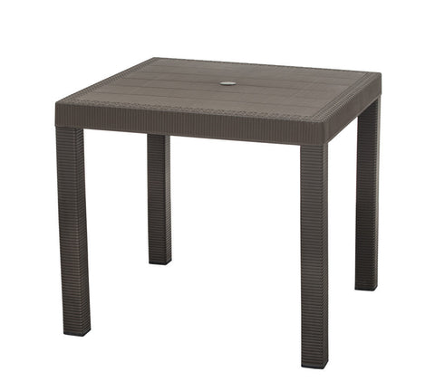 ELI001- Elite Table ( Rattan Look)- Square 4 seater-Tables-Moolla Furniture Corp CC