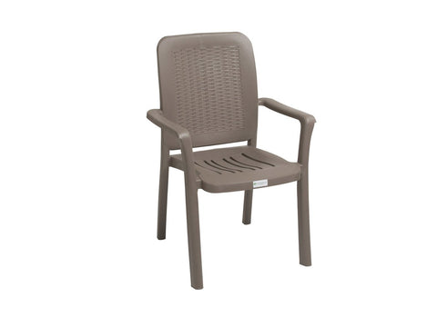 EMM001 - Garden High Back Chair- Emma-Plastic Chairs-Moolla Furniture Corp CC