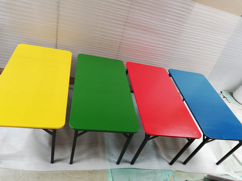 Kiddies Table- Supawood (1200mm x 600mm x 550mmh)Red/blue/Green/Yellow-School Furniture-Moolla Furniture Corp CC