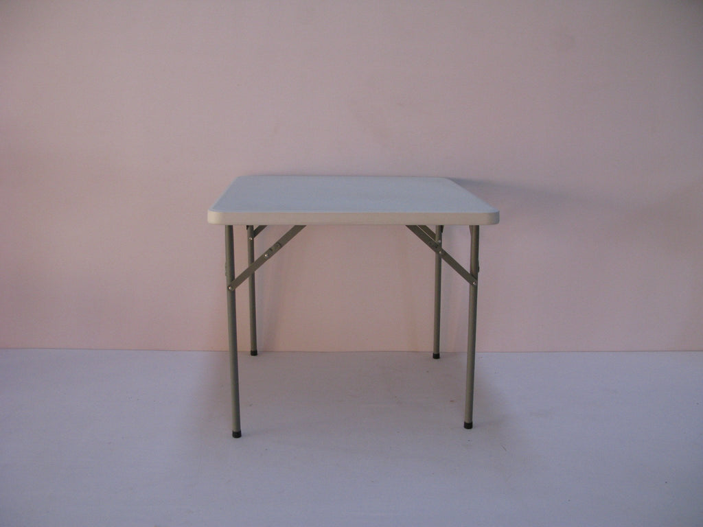 SQU001- Square Plastic Table-Tables-Moolla Furniture Corp CC