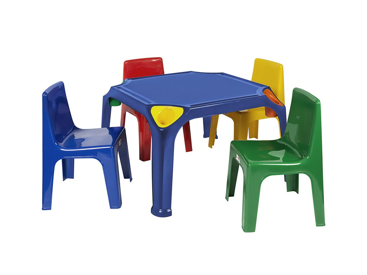 KID002 - Kiddies Table with pencil groove and holder (Virgin)- Buzzy Bee  sc 1 st  Moolla Furniture Corp & KID002 - Kiddies Table with pencil groove and holder (Virgin)- Buzzy ...