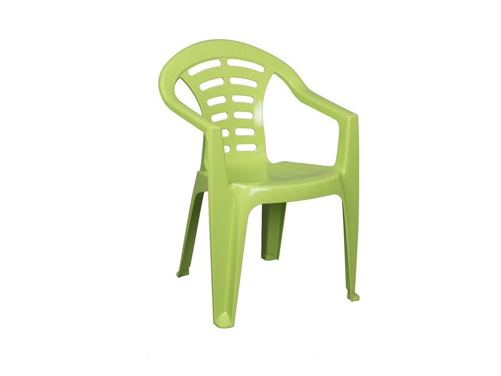 MAD002 - Garden Low Back Chair- Madrid Virgin-Plastic Chairs-Moolla Furniture Corp CC