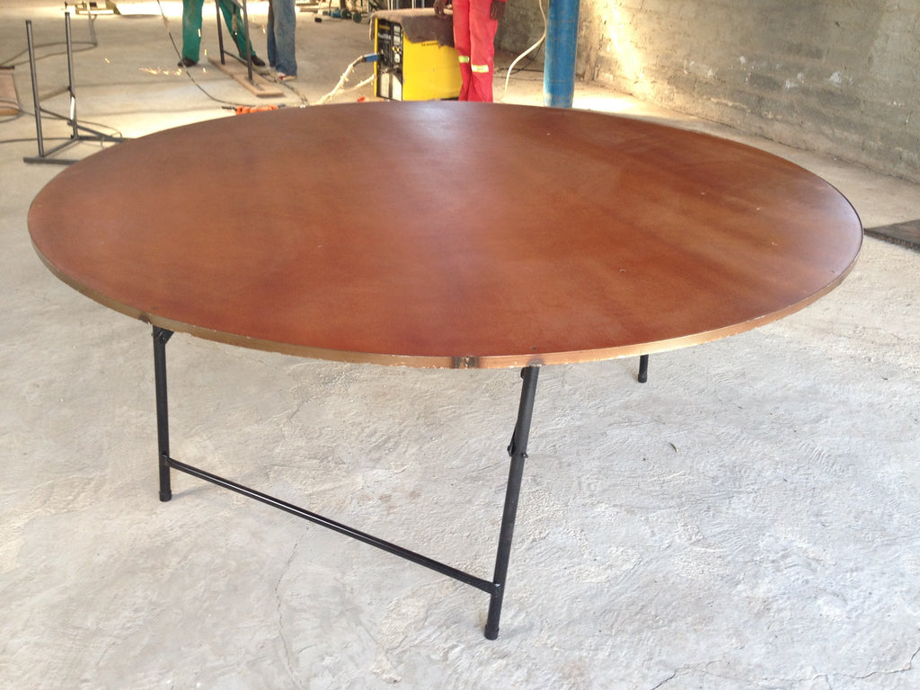 ROU001 - Round Supawood(MDF) Table-Tables-Moolla Furniture Corp CC