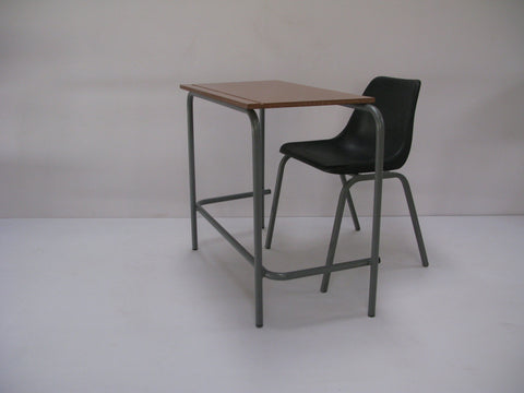SCH001 - Senior Single School Desk- Economy (550mm x 450mmh x 750mmhigh)-School Furniture-Moolla Furniture Corp CC