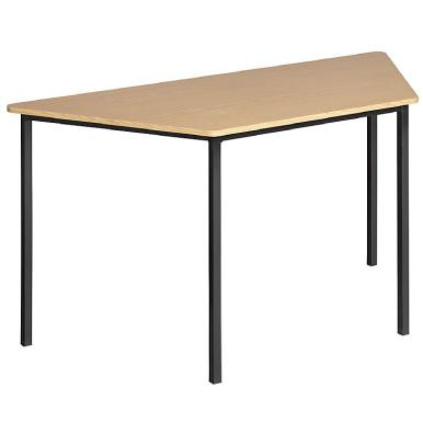 TRA001 - Trapezoid training table (supawood)-School Furniture-Moolla Furniture Corp CC