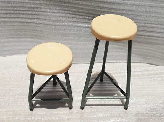 LAB001 - Laboratory stool-plastic seat-School Furniture-Moolla Furniture Corp CC