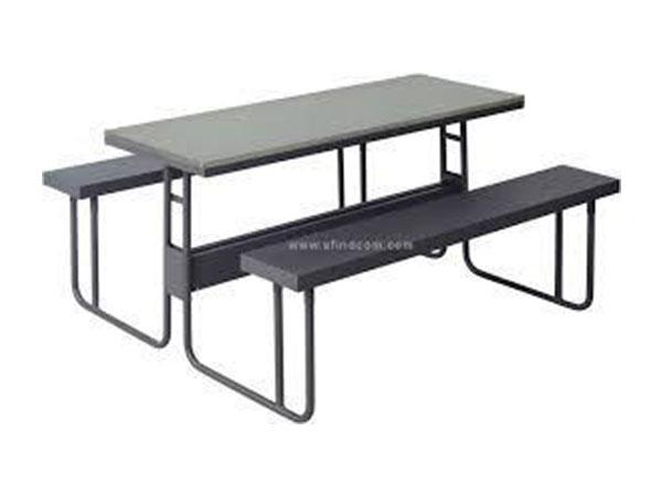 CAN001 - Canteen Tables- 1800mm Long (6 Seater) Painted Top-Tables-Moolla Furniture Corp CC