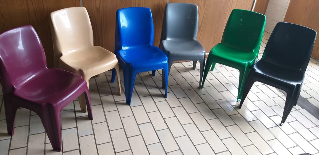 CAR002 -Carlow Plastic Chair ( Colours Virgin)-Plastic Chairs-Moolla Furniture Corp CC