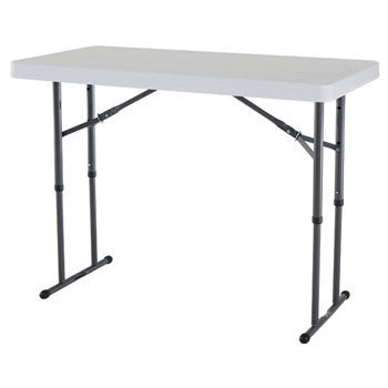 FOL002 - Fold in Half Rectangular Plastic Tables- 4ft (1200mm)-Tables-Moolla Furniture Corp CC
