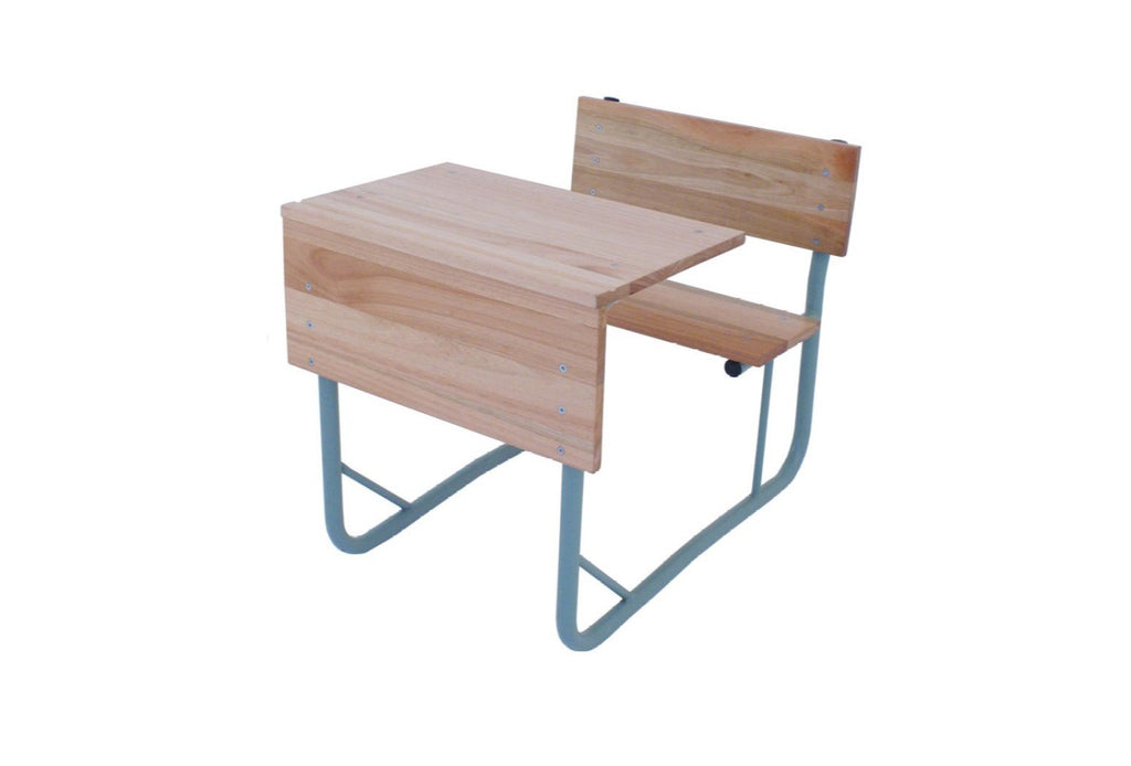 SCH15 - SALIGNA Junior Single Combination School Desk (600mm x 400mm x 550mmhigh/650mmhigh)-School Furniture-Moolla Furniture Corp CC