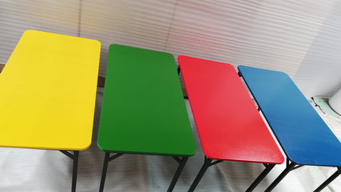 KID006 - Kiddies Table- Supawood (1200mm x 600mm x 550mmh)Red/blue/Green/Yellow-School Furniture-Moolla Furniture Corp CC