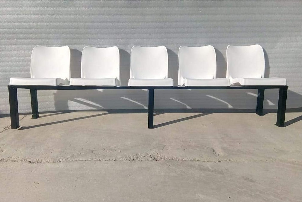WAI001- Waiting Room Bench-Plastic Chairs-Moolla Furniture Corp CC