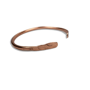 Bright Copper Heavy Gauge Bangle