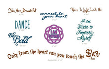 Carry Your Message - Conscious Ink Goddess Intention Pack