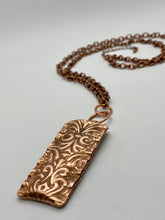 CYM-Ornamental Copper Message Pendant