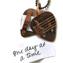 Carry Your Message® Guitar Pick Necklace