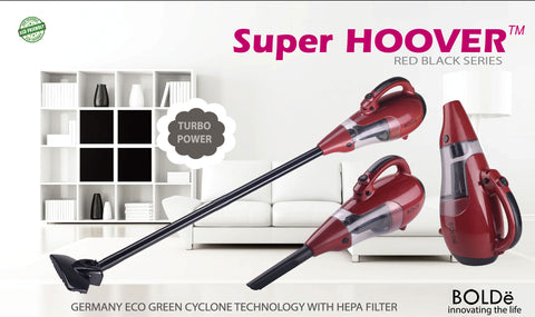 Super HOOVER RED BLACK SERIES
