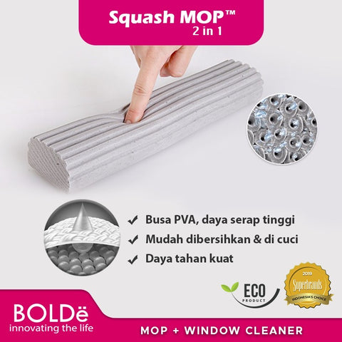 Refill Squash MOP 2 in 1