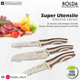 Super Utensile Electra series 4 pcs set.