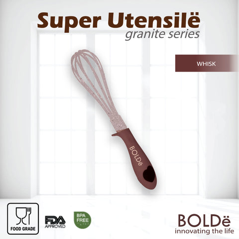 Super UTENSILE Granite Series WHISK Beige