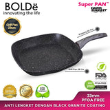 GRILL PAN 28 cm, Black DARK KNIGHT Series