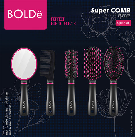 a Super COMB AVANTE  5 pcs / set