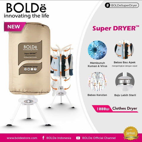 Super DRYER ( Pengering Pakaian Portable )