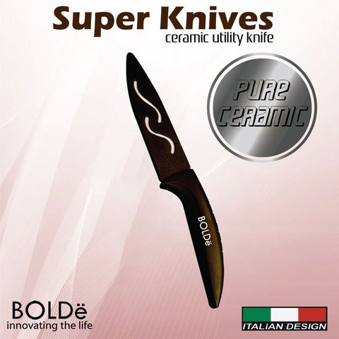 Super Knives CERAMIC Utility Knife