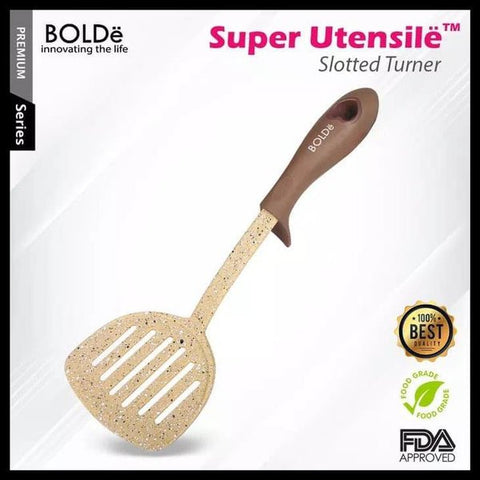 Super UTENSILE Granite Series SLOTTED TURNER Beige