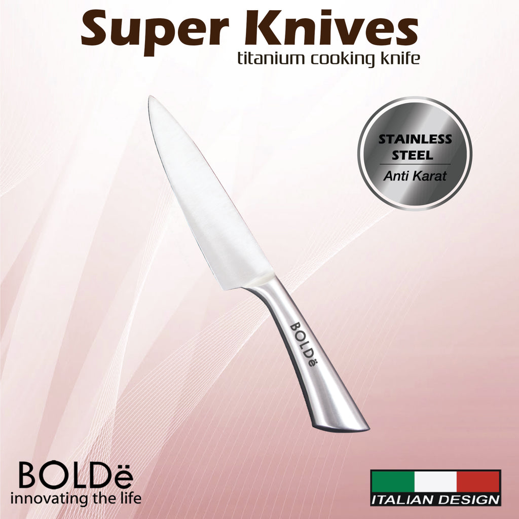 Super Knives Titanium Cooking Knife