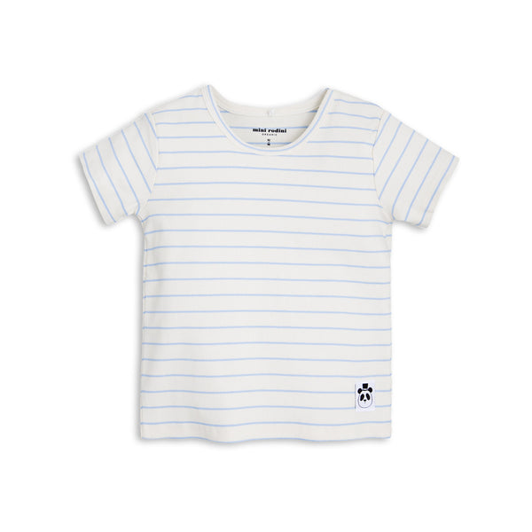 Mini Rodini Stripe rib t-shirt