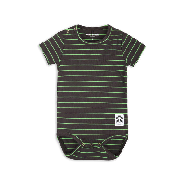 mini rodini stripe rib ss body